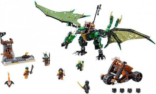 Конструктор Зелёный Дракон