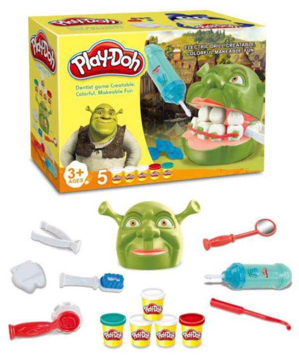 Мистер Зубастик Shrek Play-Doh оптом