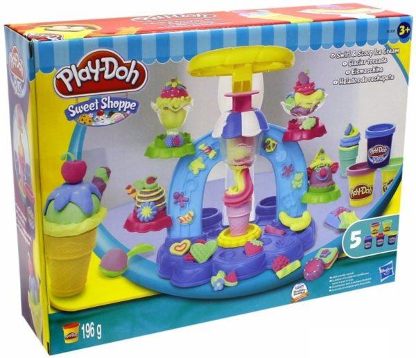 Play-Doh фабрика мороженного
