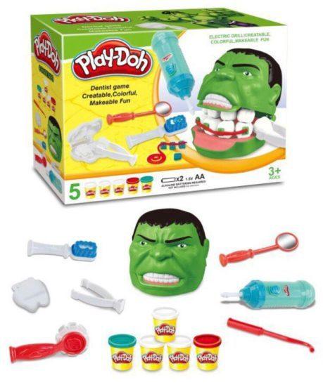 набор пластилина Мистер Зубастик Hulk Play-Doh