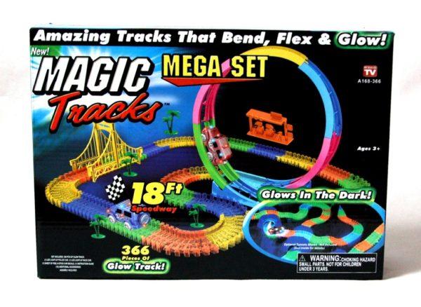 Magic track 366 деталей с мертвой петлей 2 машинки