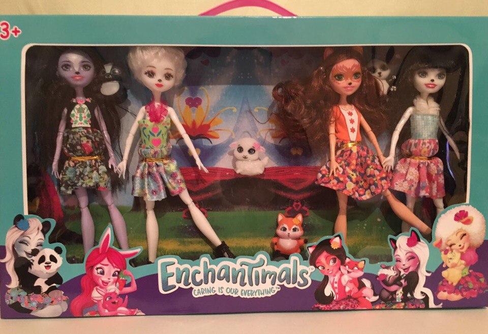 Кукла Enchantimals набор