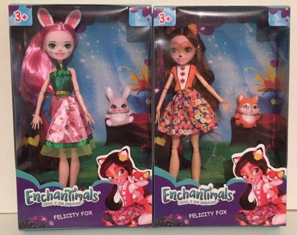 Кукла Enchantimals шарнирная