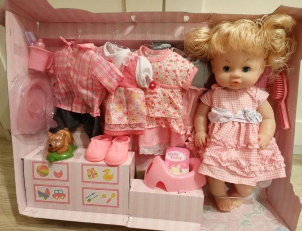 Интерактивная кукла Валюша