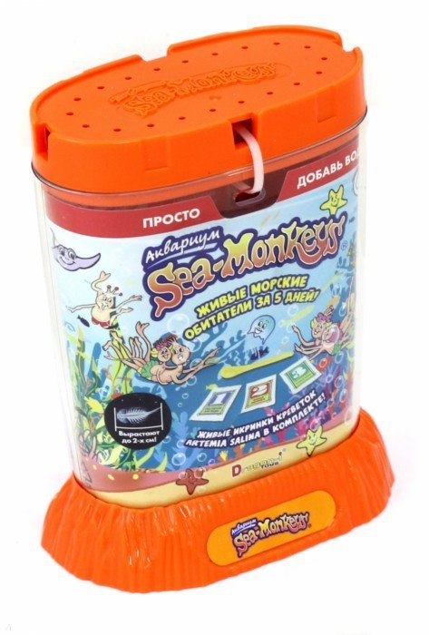 аквариум sea monkeys купить
