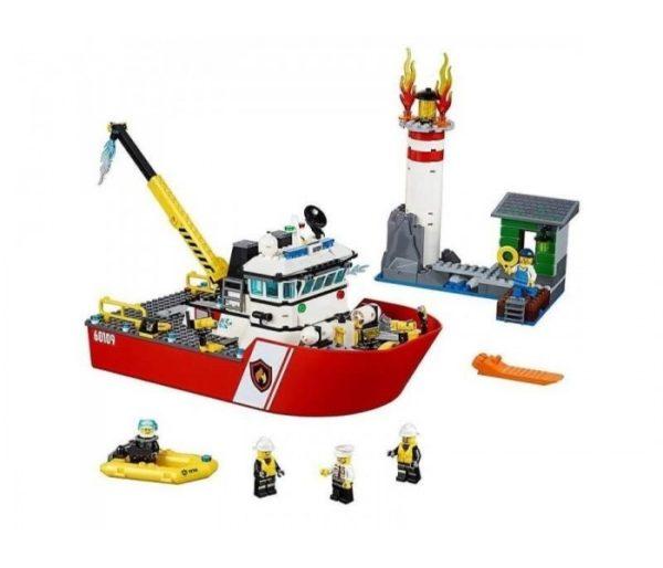 Пожарный катер