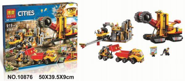Конструктор Bela 10876 Площадка для горнодобывающих работ