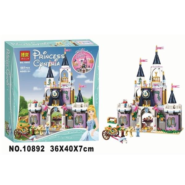Конструктор Bela 10892 Волшебный замок Золушки