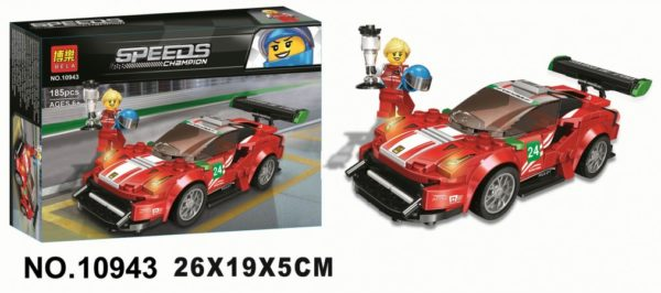 Конструктор Bela 10943 Ferrari 488 GT3 Scuderia Corsa