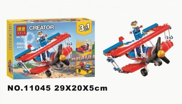 Конструктор Bela 11045 Самолёт для крутых трюков