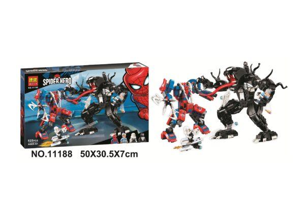 Конструктор Bela 11188 Человек-паук против Венома