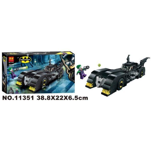 Конструктор Lari 11351 Бэтмобиль: Погоня за Джокером