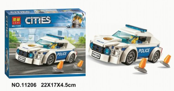 Конструктор Lari 11206 Автомобиль полицейского патруля