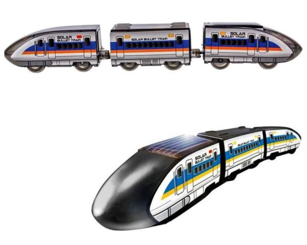 электромеханический конструктор поезд