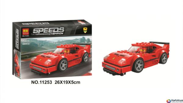 Конструктор Lari 11253 Ferrari F40 Competizione