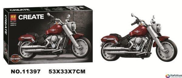 Конструктор lari 11397 Harley-Davidson Fat Boy